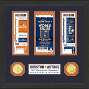 Houston Astros 2017 World Series Champions Ticket Collection
