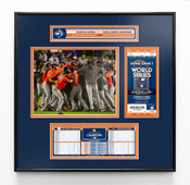 2017 World Series Champions Ticket Frame Jr - Houston Astros