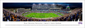 "TCU Horned Frogs ""50 Yard Line"" at Amon Carter Stadium Panoramic Poster"