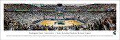Michigan State vs Notre Dame at the Breslin Student Events Center Panoramic Poster
