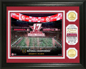 Alabama Crimson Tide 2018 Football National Champions Commemorative Bronze Coin Photo Mint
