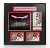 Alabama Crimson Tide 2018 Football National Champions Ticket Frame