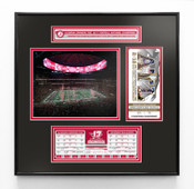 Alabama Crimson Tide 2018 Football National Champions Ticket Frame with Stat Box