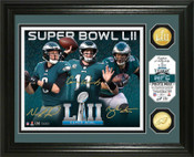 Philadelphia Eagles Super Bowl 52 Team Force Bronze Coin Photo Mint