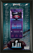 Philadelphia Eagles Super Bowl 52 Signature Ticket