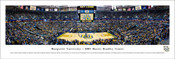Marquette Golden Eagles Basketball at BMO Harris Bradley Center Panoramic Poster
