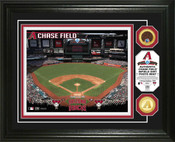 Arizona Diamondbacks - Chase Field Dirt Coin Photo Mint