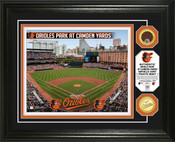 Baltimore Orioles - Camden Yards Dirt Coin Photo Mint