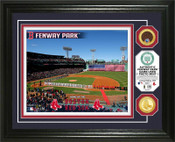 Boston Red Sox - Fenway Park Dirt Coin Photo Mint