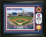 Chicago Cubs - Wrigley Field Dirt Coin Photo Mint