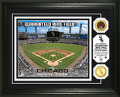 Chicago White Sox - Guaranteed Rate Field Dirt Coin Photo Mint