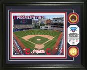 Cleveland Indians - Progressive Field Dirt Coin Photo Mint