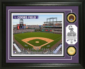 Colorado Rockies - Coors Field Dirt Coin Photo Mint