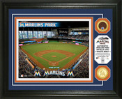 Miami Marlins - Marlins Park Dirt Coin Photo Mint
