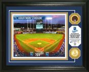 Kansas City Royals - Kauffman Stadium Dirt Coin Photo Mint