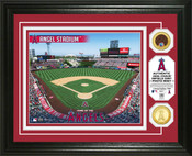 Los Angeles Angels - Angel Stadium Dirt Coin Photo Mint