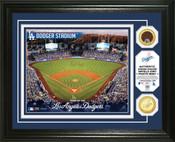 Los Angeles Dodgers - Dodger Stadium Dirt Coin Photo Mint