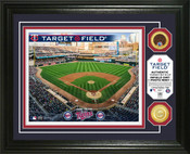 Minnesota Twins - Target Field Dirt Coin Photo Mint