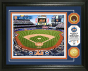 New York Mets - Citi Field Dirt Coin Photo Mint