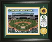 Oakland A's - Oakland Coliseum Dirt Coin Photo Mint