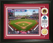Philadelphia Phillies - Citizens Bank Park Dirt Coin Photo Mint