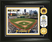 Pittsburgh Pirates - PNC Park Dirt Coin Photo Mint