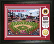 St. Louis Cardinals - Busch Stadium Dirt Coin Photo Mint