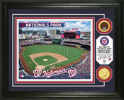 Washington Nationals - Nationals Park Dirt Coin Photo Mint