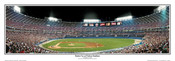 "Atlanta Braves ""Batter Up"" Atlanta Fulton County Stadium Panoramic Framed Poster"