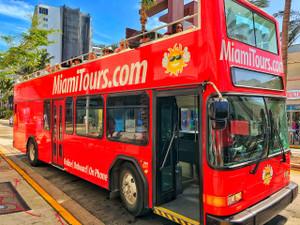 Hop-On Hop-Off Miami Double Decker Bus Tour
