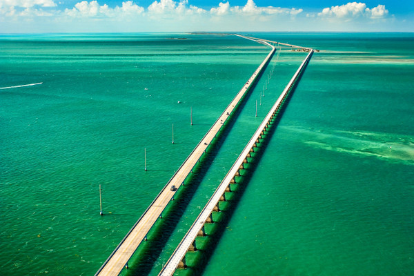 7 Mile bridge Key West Florida
