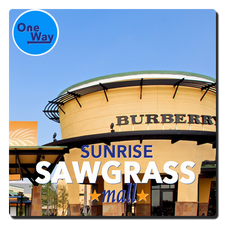 Sawgrass Mills Mall (One Way)