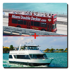 Miami Bus Tour + Miami Boat Tour
