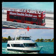 Miami Bus Tour + Miami Boat Tour