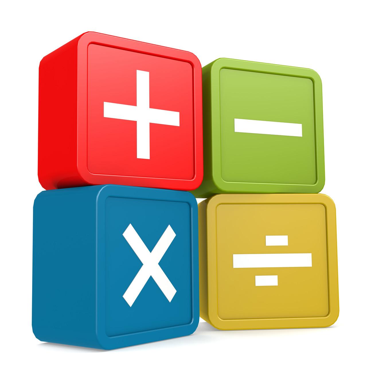 math worksheet : complete set : Large Print Math Worksheets