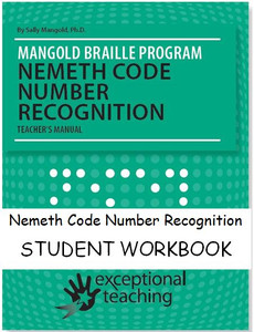 Mangold Nemeth Code Number Recognition Student Workbook