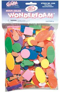 Peel & Stick Wonderfoam 720 Piece Bag