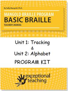 Mangold Basic Braille Program Kit Units 1 & 2