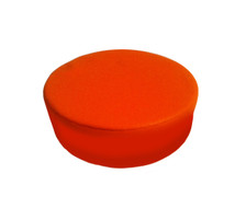 "Orange Circle Measures: 9.5"" x 9.5"" x 3"""