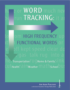 Word Tracking: High Frequency Functional Words