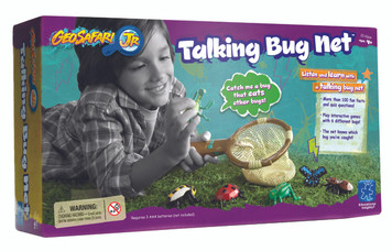 GeoSafari Jr. Talking Bug Net