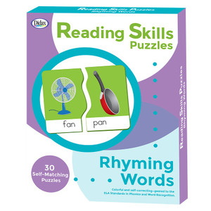 Reading Skills Puzzles - Rhyming Words