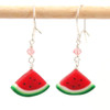watermelon earrings by inedible jewelry