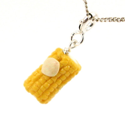 corn necklace by inedible jewelry