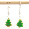Christmas tree cookie earrings by inedible jewelry