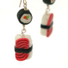 double sushi earrings by inedible jewelry