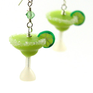margarita earrings by inedible jewelry