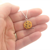 chocolate chip cookie necklace by inedible jewelry