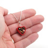 heart box of chocolates necklace by inedible jewelry