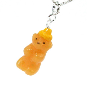 honey bear necklace by inedible jewelry